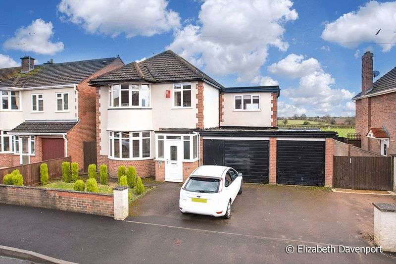 4 Bedrooms Detached House for sale in Gretna Road, Finham, Coventry