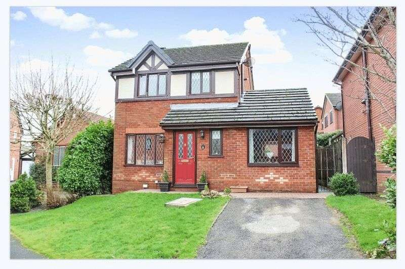 3 Bedrooms Detached House for sale in Plumtree Close, PR2 9NS