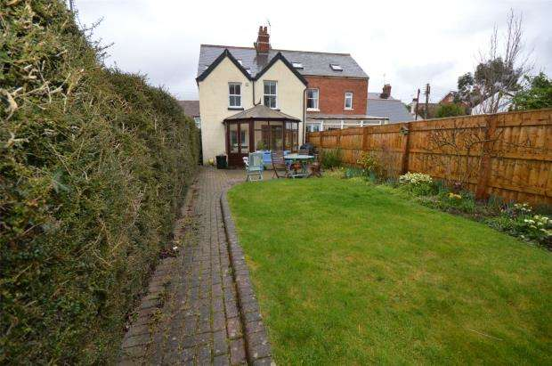 4 Bedrooms Semi Detached House for sale in Paynes Cottages, Longmeadow Road, Lympstone, Exmouth
