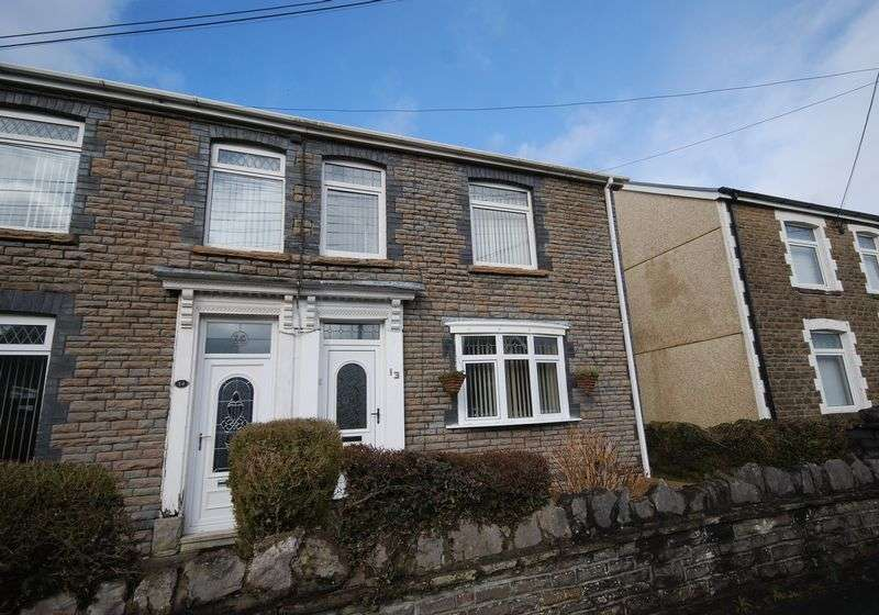 4 Bedrooms Semi Detached House for sale in 13 Tyn Yr Heol Road, Bryncoch, Neath, SA10 7EA