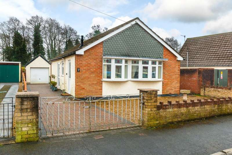 2 Bedrooms Bungalow for sale in St Margarets Road, Caerphilly, Gwent CF83 1DB