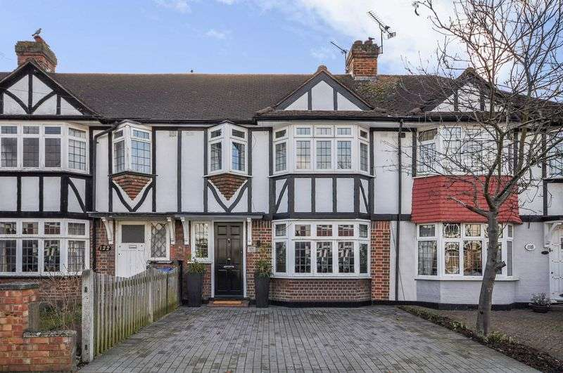 3 Bedrooms Terraced House for sale in Barnfield Avenue, Kingston Upon Thames