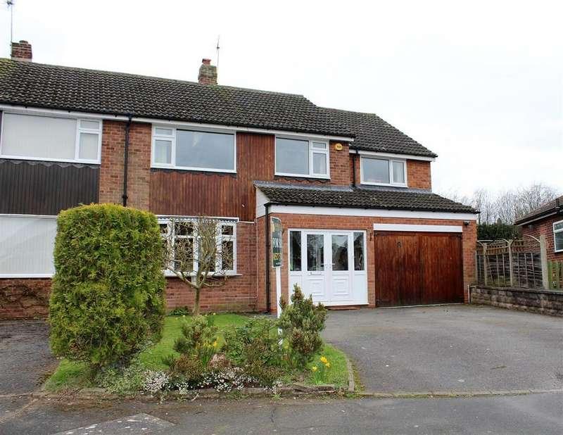 4 Bedrooms Semi Detached House for sale in Warbank Close, Alvechurch, Birmingham