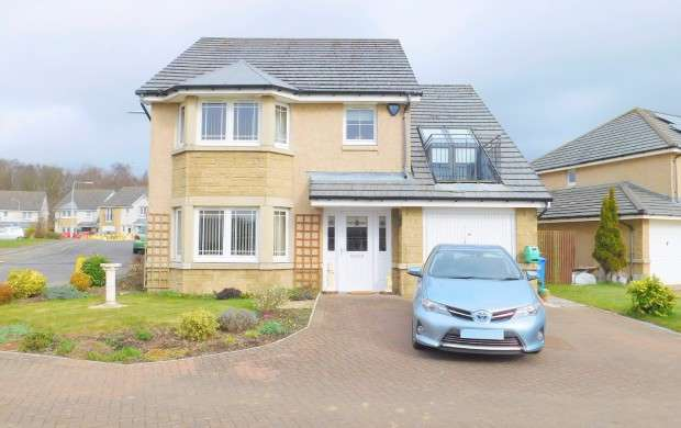 4 Bedrooms Detached House for sale in Bennachie Way, Dunfermline, KY11