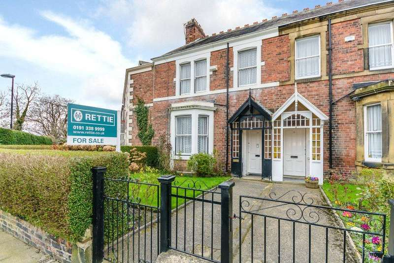 5 Bedrooms Terraced House for sale in Balmoral Terrace, South Gosforth, Newcastle Upon Tyne, Tyne And Wear