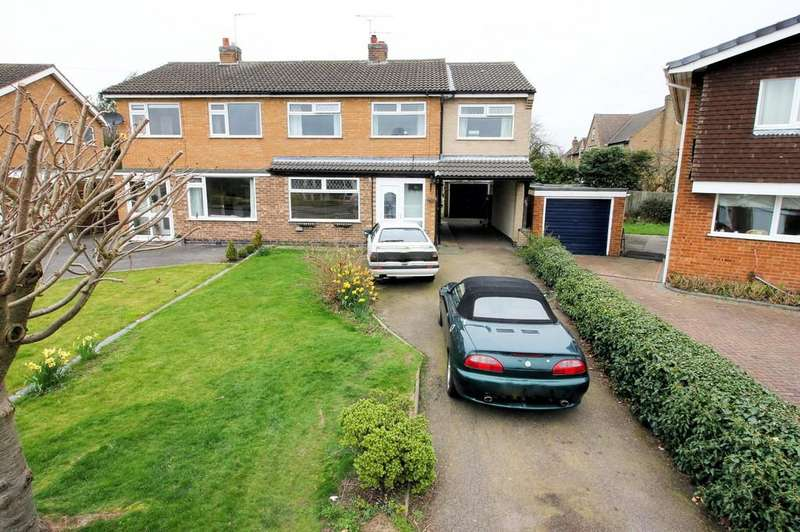 4 Bedrooms Semi Detached House for sale in Rydal Avenue, Loughborough