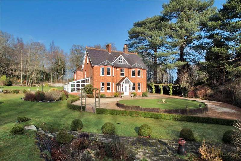 5 Bedrooms Detached House for sale in Burnt Oak Lane, Waldron, Heathfield, East Sussex, TN21