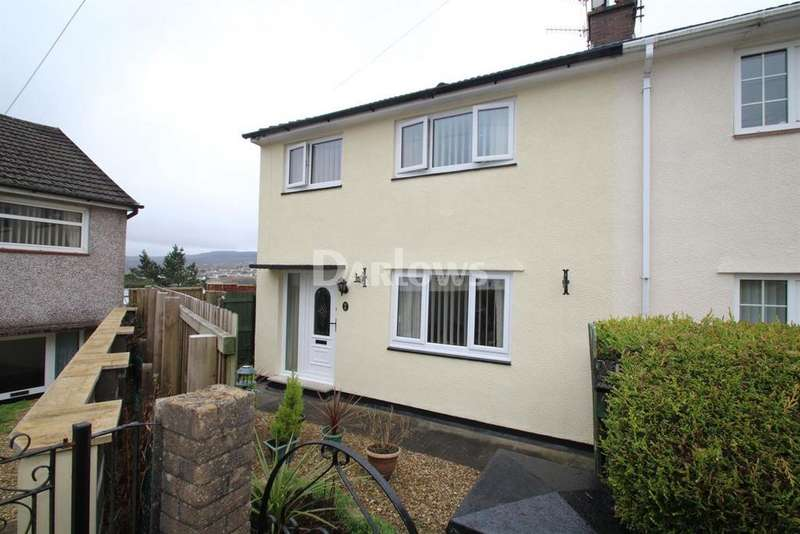 3 Bedrooms Semi Detached House for sale in Gersanws, Cefn Coed