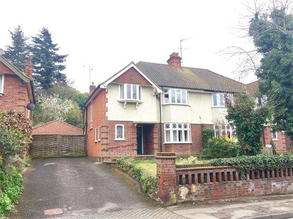 4 Bedrooms Semi Detached House for sale in Tuddenham Road, Ipswich