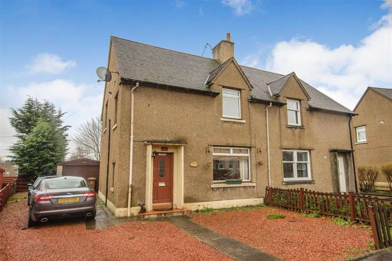 3 Bedrooms Semi Detached House for sale in Mclachlan Street, Stenhousemuir