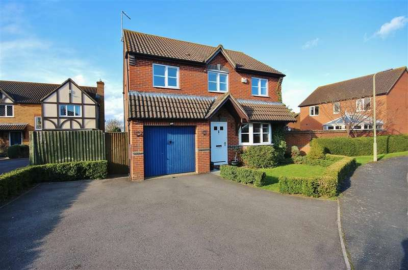 4 Bedrooms Detached House for sale in Churchward Close, Grove, Wantage, OX12