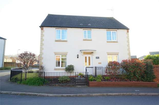 4 Bedrooms Detached House for sale in Lily Way, Rogerstone, NEWPORT