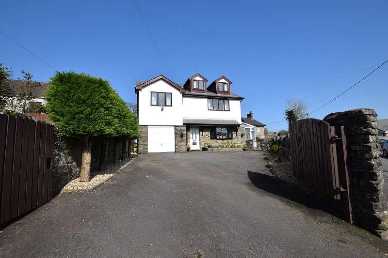 4 Bedrooms Detached House for sale in Ty Gwyn Minffrwd Road, Pencoed, Bridgend. CF35 6RL