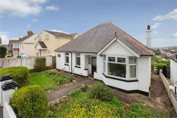 3 Bedrooms Detached Bungalow for sale in Audley Avenue, Torquay, Torquay, Devon. TQ2 7PD