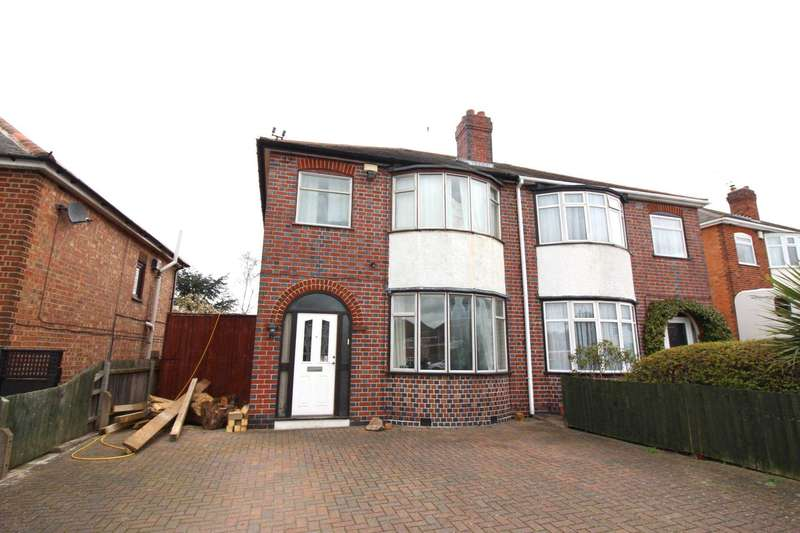 3 Bedrooms Semi Detached House for sale in Wigston Lane, Aylestone