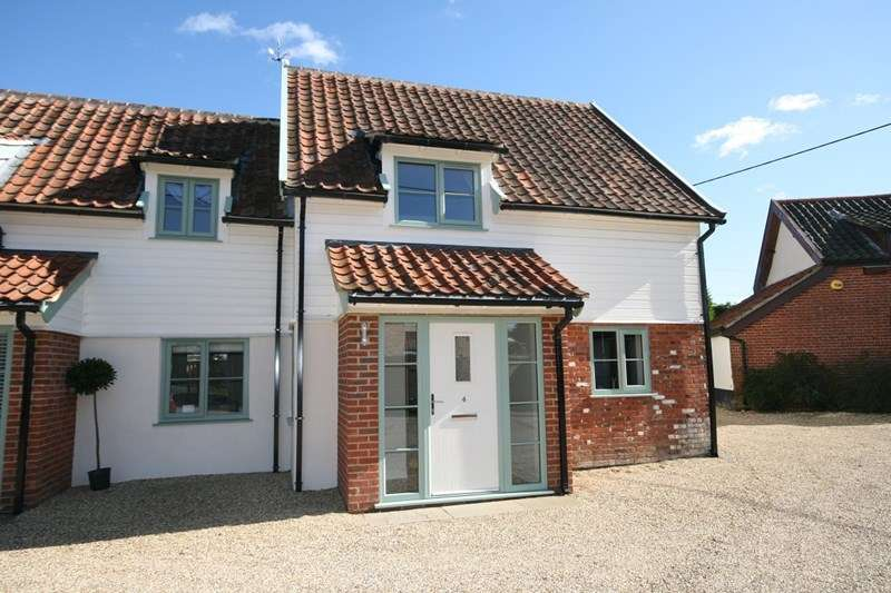 3 Bedrooms Semi Detached House for sale in The Turnpike, Carleton Rode, Norwich