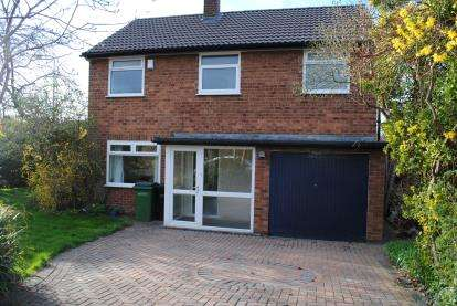 3 Bedrooms Detached House for sale in Radnormere Drive, Cheadle Hulme, Cheadle, Greater Manchester