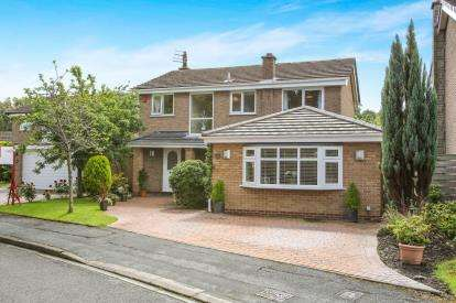 4 Bedrooms Detached House for sale in Willow Lane, Goostrey, Crewe, Cheshire