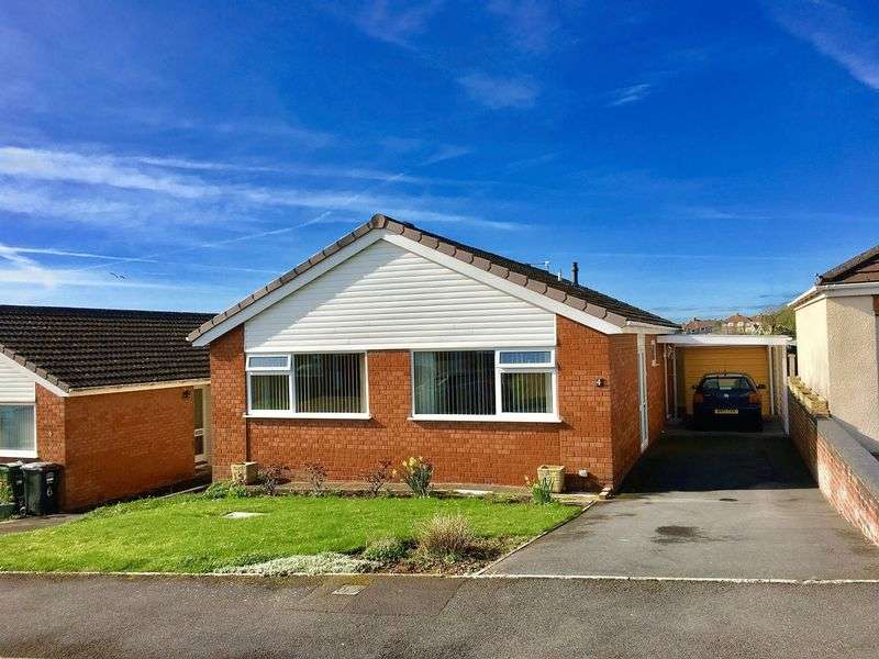 2 Bedrooms Detached Bungalow for sale in Powis Close, Worle, Weston-Super-Mare