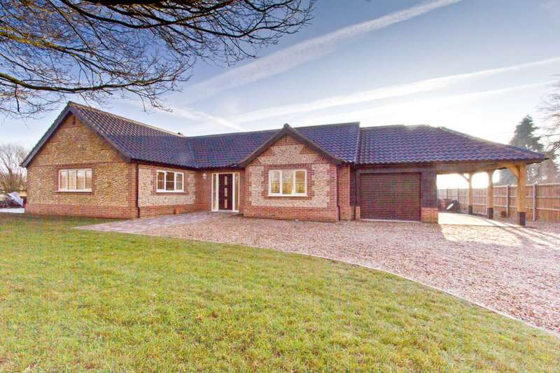 4 Bedrooms Detached Bungalow for sale in Barrows Hole Lane, Little Dunham