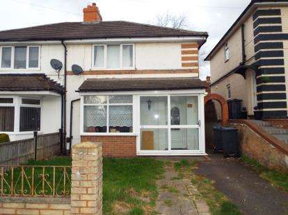 3 Bedrooms Semi Detached House for sale in Crayford Road, Birmingham, West Midlands