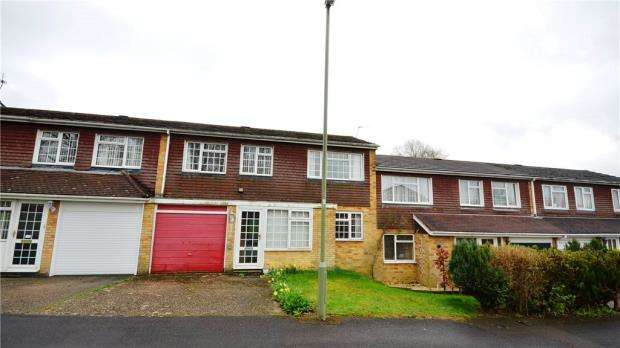 3 Bedrooms Terraced House for sale in Tiverton Road, Basingstoke, Hampshire