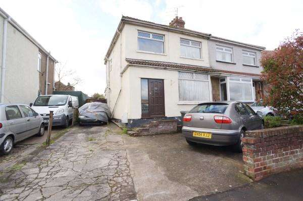 3 Bedrooms House for sale in Badminton Road, Downend, Bristol, BS16 6BU