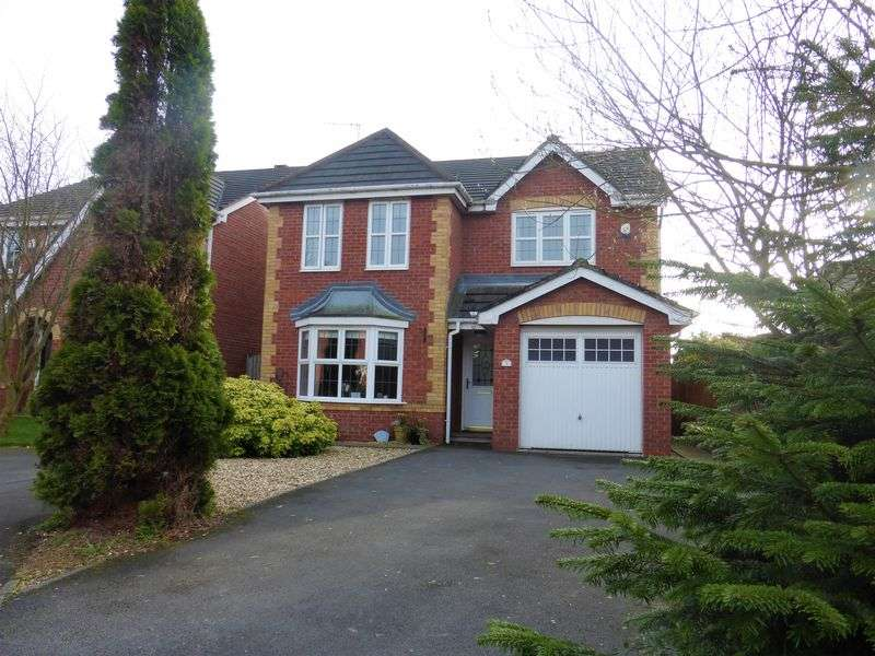 4 Bedrooms Detached House for sale in Horrocks Fold, Preston