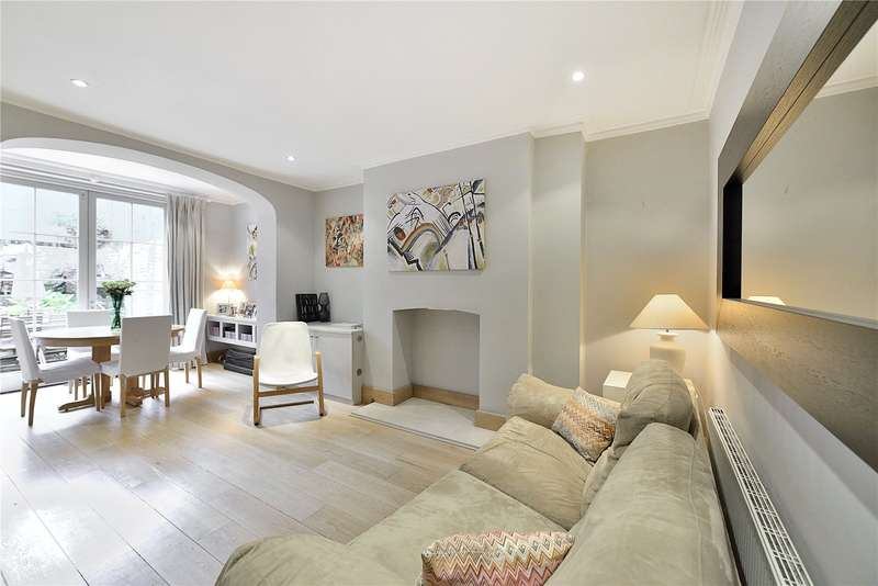 2 Bedrooms Flat for sale in Thornhill Square, London, N1