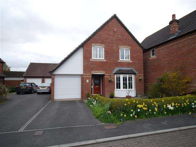 4 Bedrooms Detached House for sale in Saxon Close, Oake, Taunton TA4