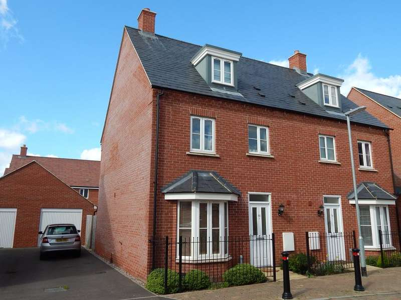 4 Bedrooms Town House for sale in Willowherb Way, Stotfold, SG5 4GR