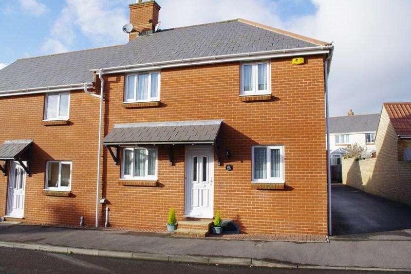 3 Bedrooms Semi Detached House for sale in Foxglove Way, Bridport