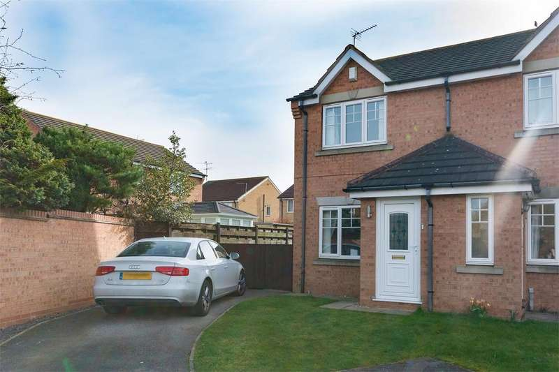 2 Bedrooms Semi Detached House for sale in Minchin Close, YORK