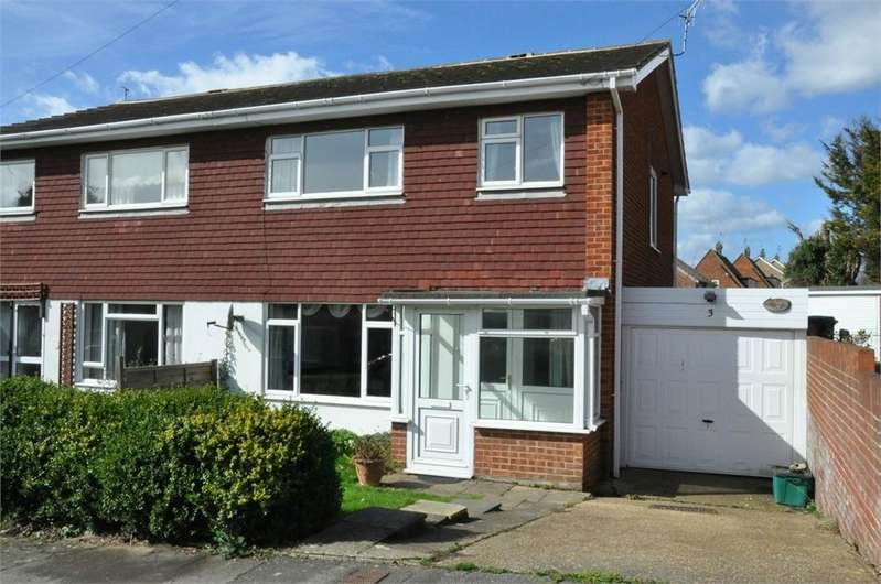 3 Bedrooms Semi Detached House for sale in Buckholt Avenue, Bexhill-On-Sea