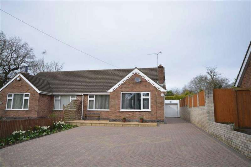 2 Bedrooms Semi Detached Bungalow for sale in Newtown Road, Bedworth