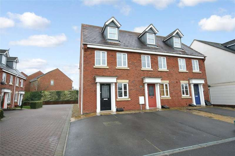 3 Bedrooms End Of Terrace House for sale in Rosebay Gardens, Cheltenham, GL51