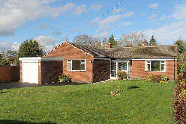 3 Bedrooms Bungalow for sale in Fenny Lane, Shearsby, Lutterworth, LE17