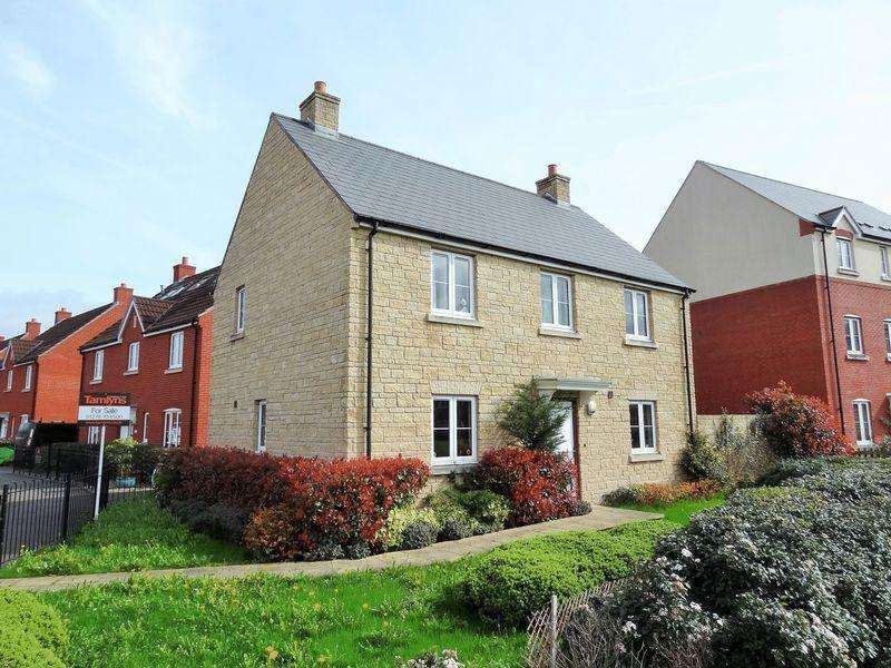 4 Bedrooms Detached House for sale in Stockmoor Drive, Bridgwater