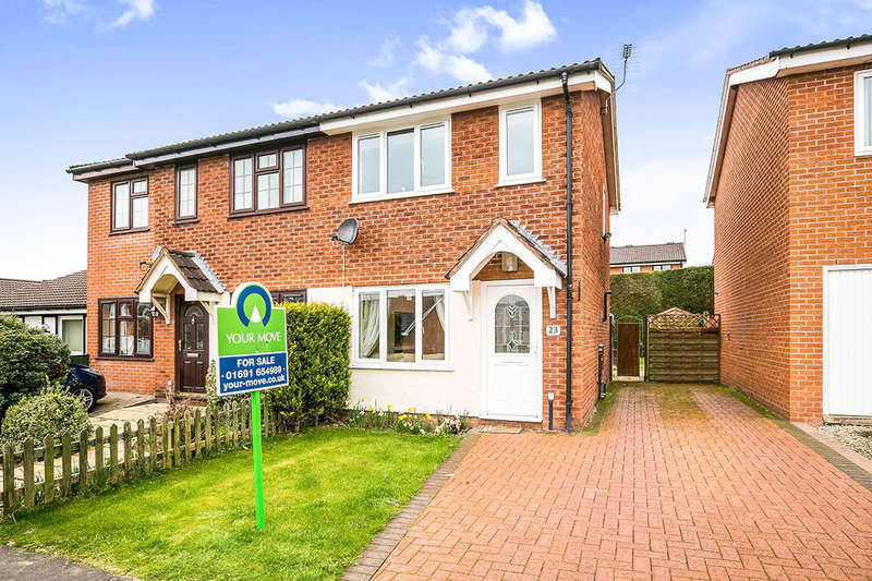2 Bedrooms Semi Detached House for sale in Aston Way, Oswestry, SY11