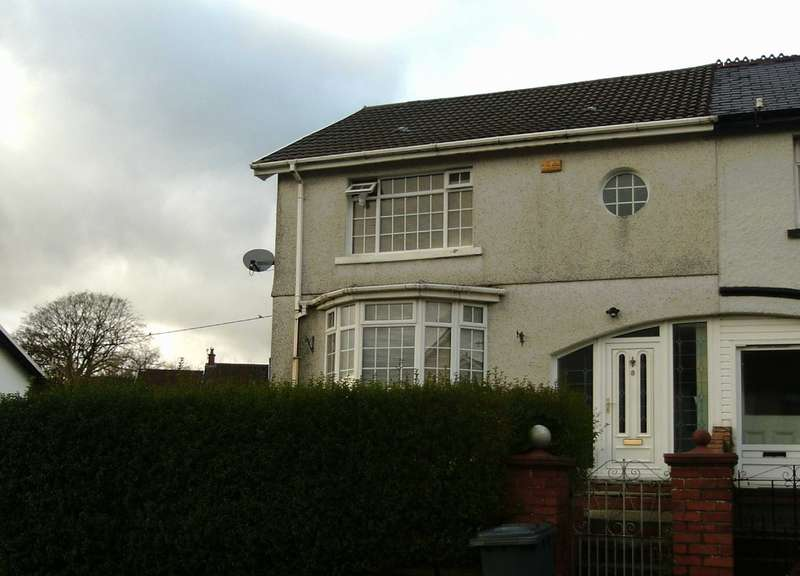 3 Bedrooms Semi Detached House for sale in Meyrick Villas, Merthyr Tydfil