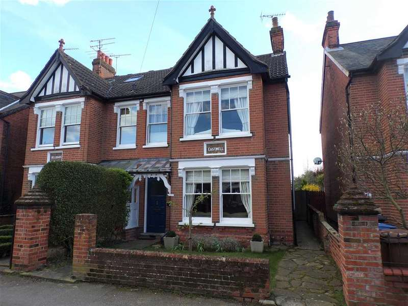 4 Bedrooms Semi Detached House for sale in Marlborough Road, Ipswich