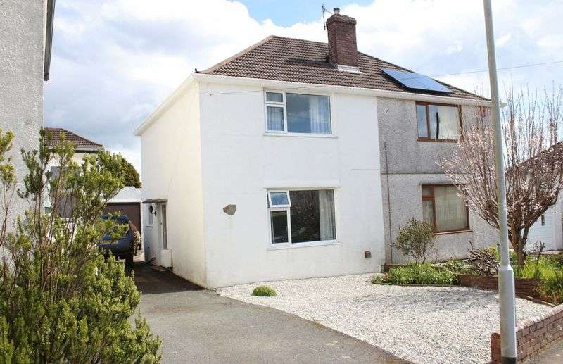 2 Bedrooms Semi Detached House for sale in Braddons Hill, Woodford, Plympton, Plymouth
