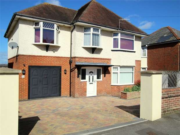 4 Bedrooms Detached House for sale in St Marys Road, Poole, POOLE, Dorset