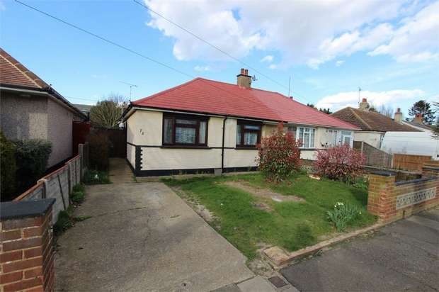 2 Bedrooms Semi Detached Bungalow for sale in Wells Avenue, SOUTHEND-ON-SEA, Essex