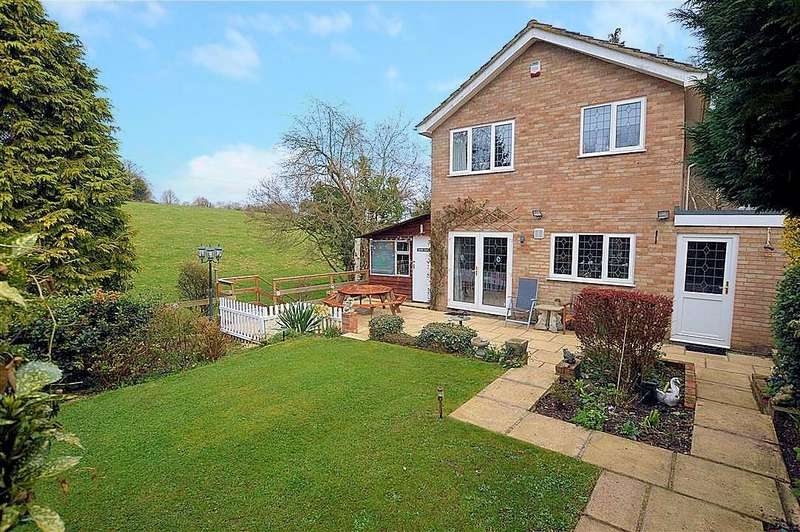 3 Bedrooms Detached House for sale in Brookside Walk, Burghfield Common, Reading, RG7