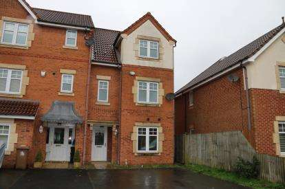 4 Bedrooms End Of Terrace House for sale in Threadneedle Court, St. Helens, Merseyside, WA9