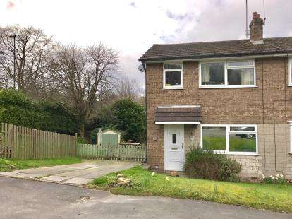 3 Bedrooms Semi Detached House for sale in Turnlee Drive, Glossop