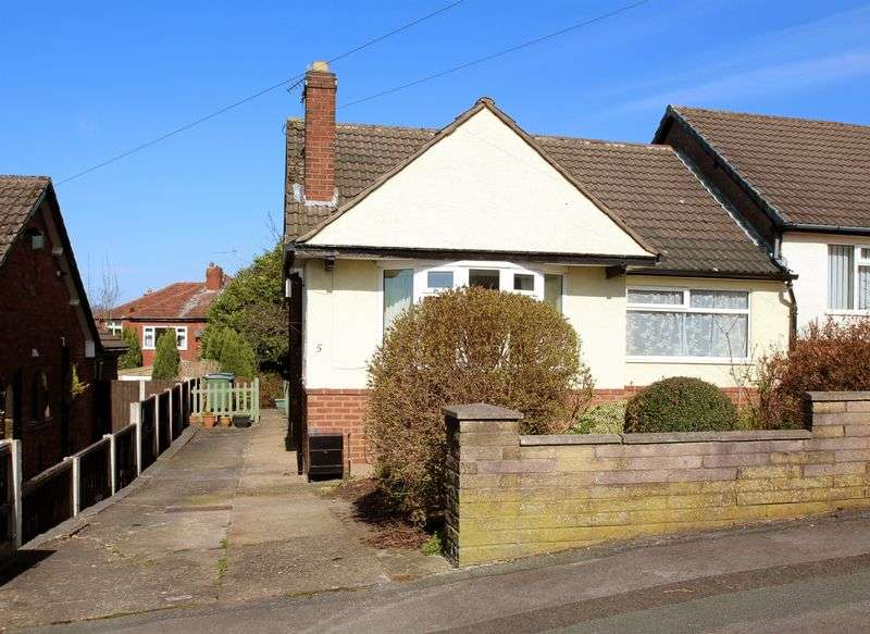 2 Bedrooms Semi Detached Bungalow for sale in Patterdale Road, Woodley