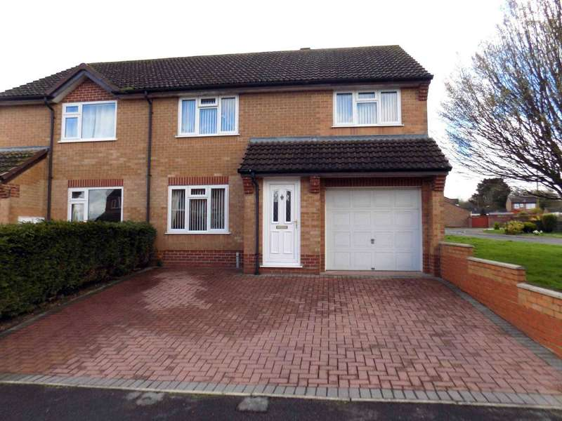 4 Bedrooms Semi Detached House for sale in Norrington Way, Chard