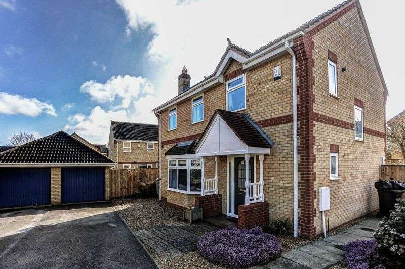 4 Bedrooms Detached House for sale in Cowslip Drive, Little Thetford